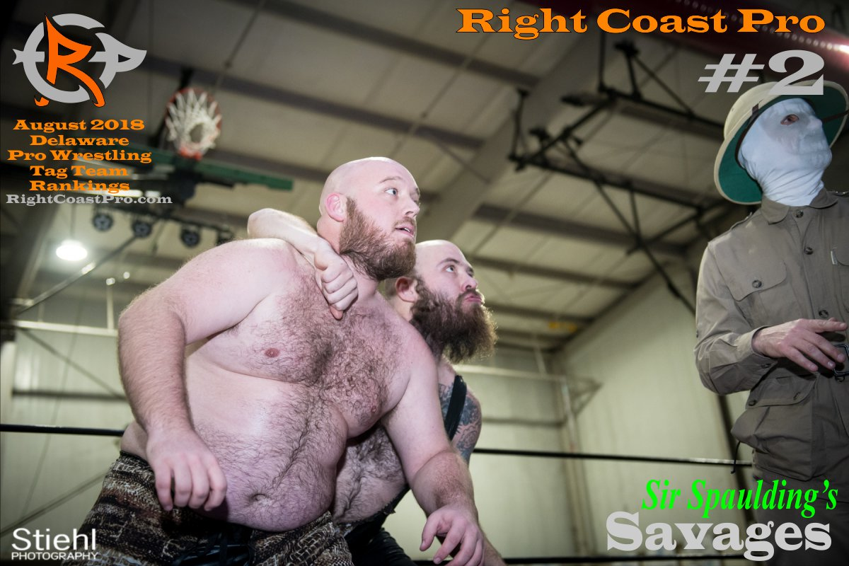 TagTeam 2 August 2018 Rankings RightCoastPro Wrestling Delaware