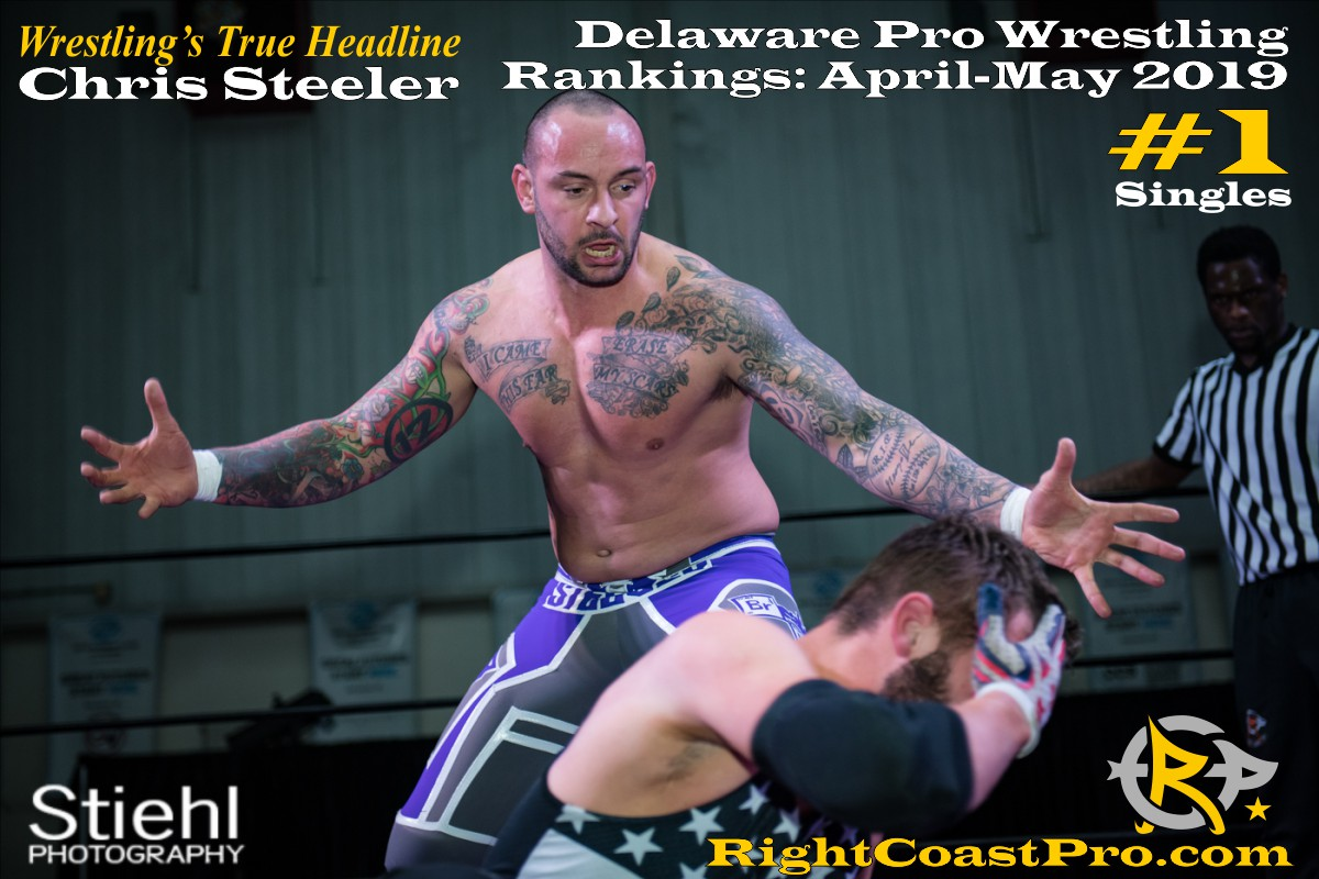2019 Singles 1 Delaware ProWrestling Rankings May RightCoastPro