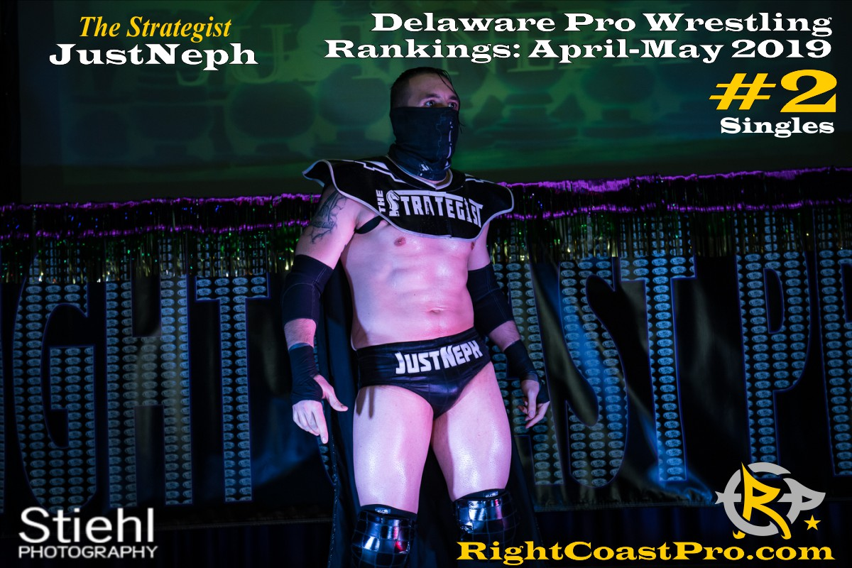 2019 Singles 2 Delaware ProWrestling Rankings May RightCoastPro