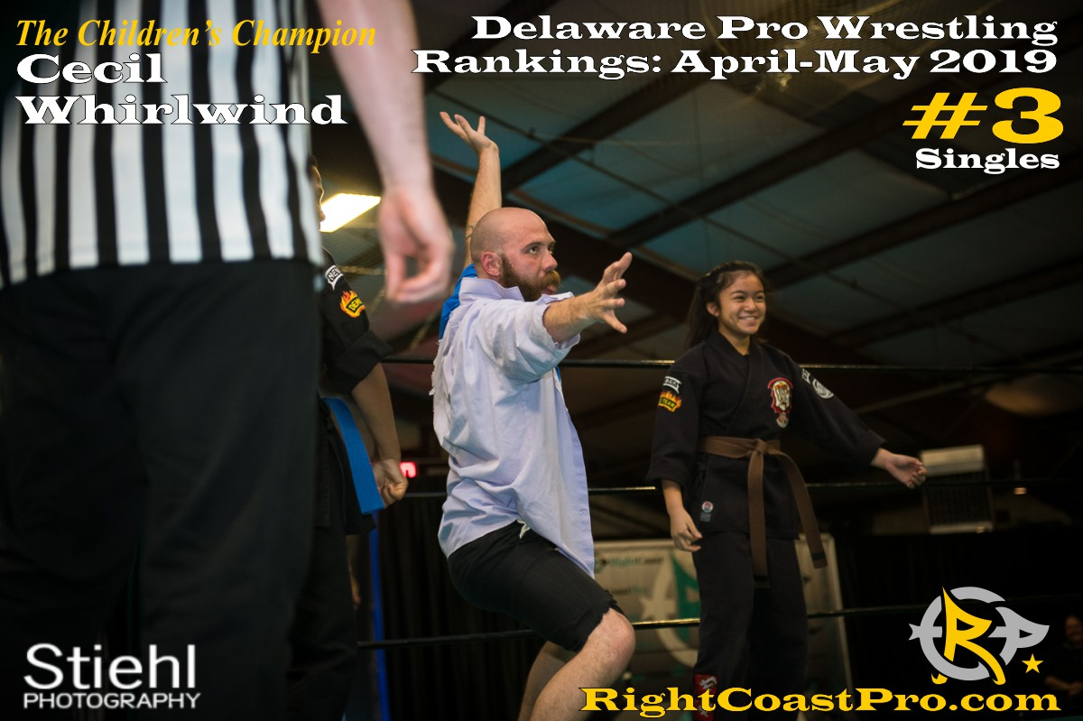 2019 Singles 3 Delaware ProWrestling Rankings May RightCoastPro