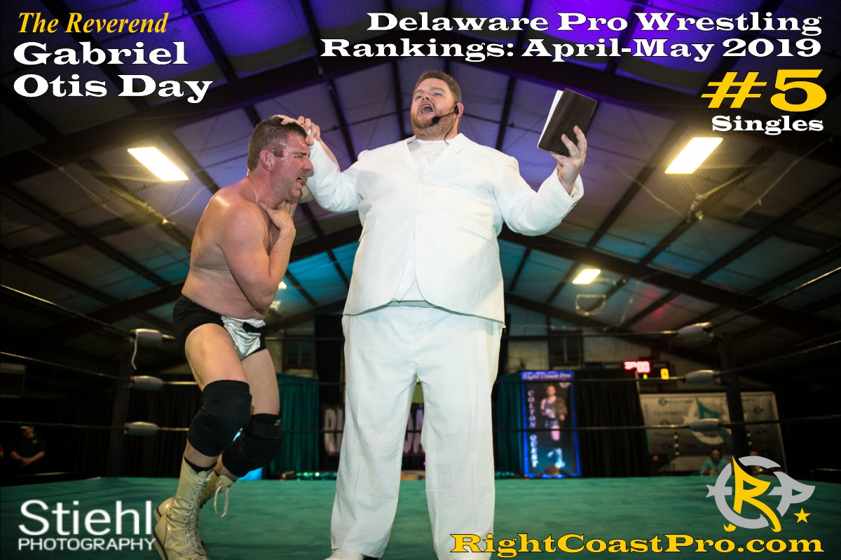 2019 Singles 5 Delaware ProWrestling Rankings May RightCoastPro