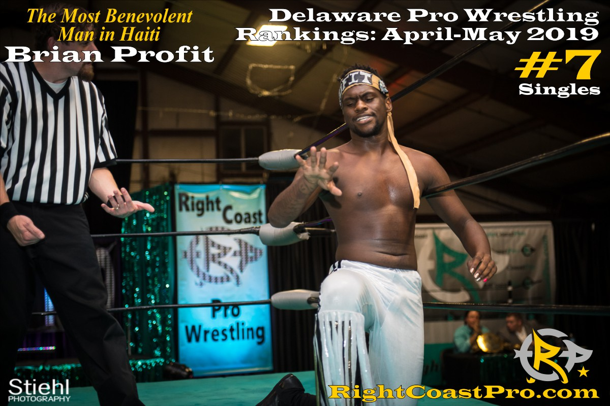 2019 Singles 7 Delaware ProWrestling Rankings May RightCoastPro