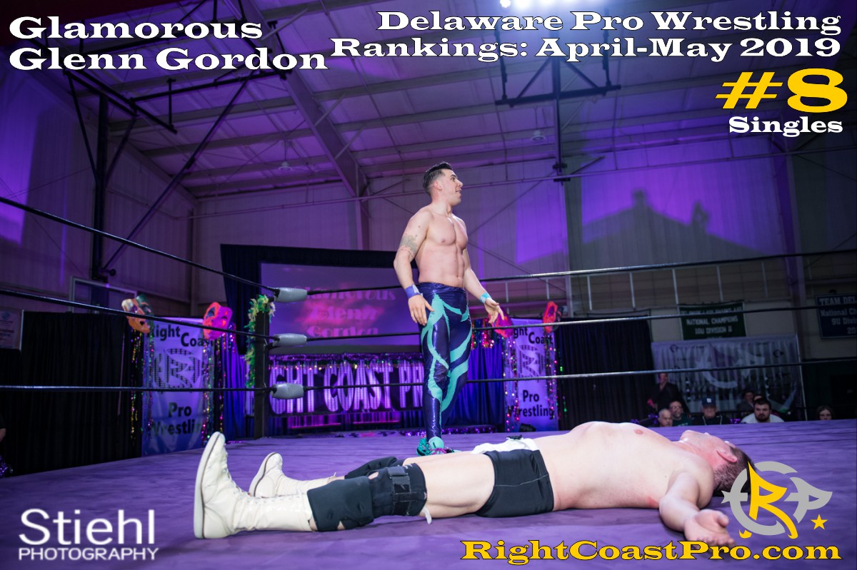 2019 Singles 8 Delaware ProWrestling Rankings May RightCoastPro