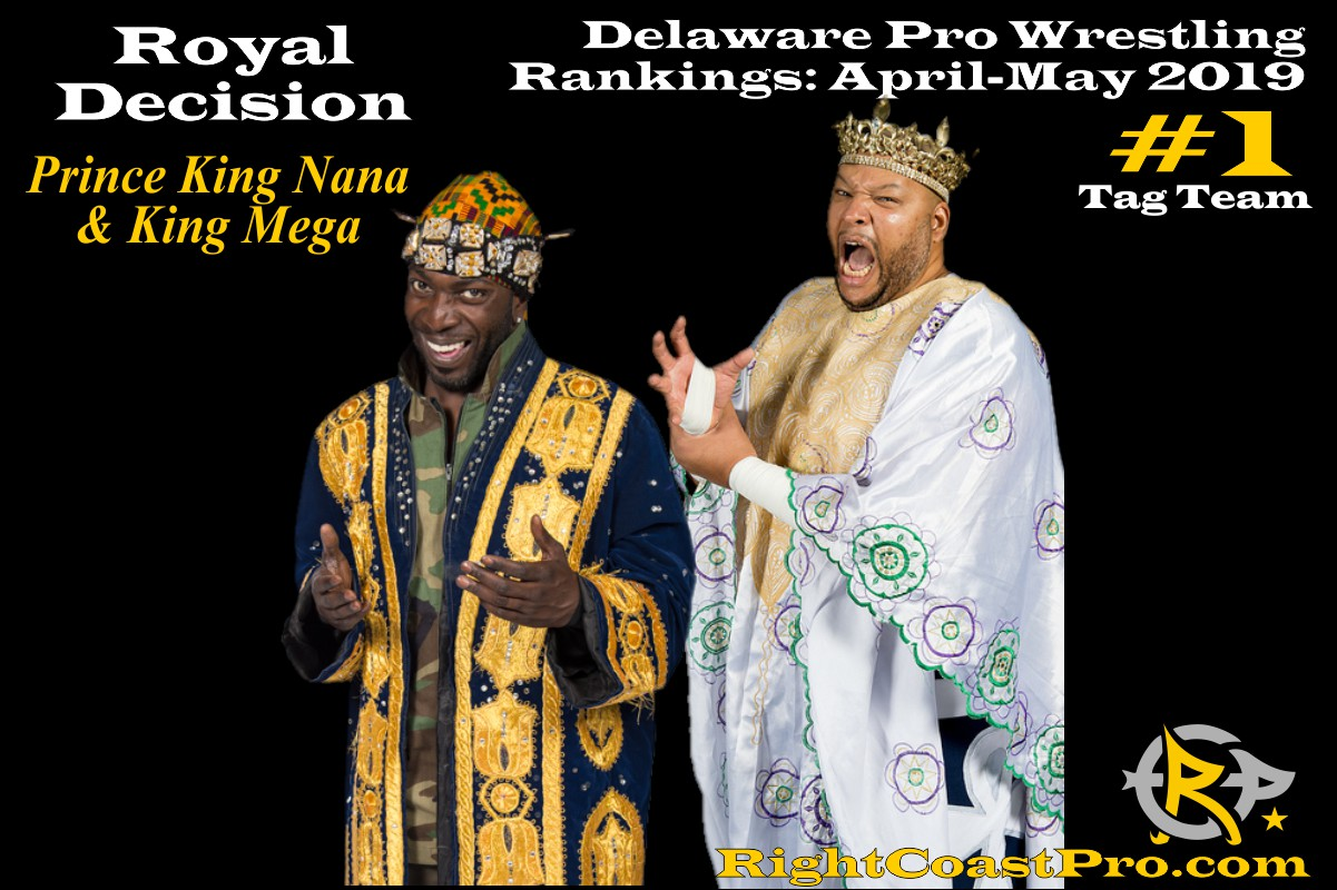 2019 TagTeam 1 Delaware ProWrestling Rankings May RightCoastPro