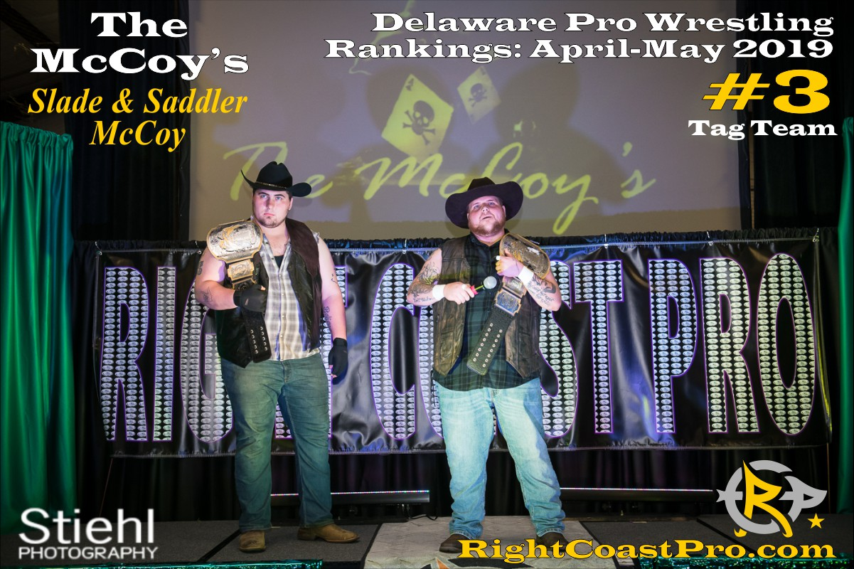 2019 TagTeam 3 Delaware ProWrestling Rankings May RightCoastPro