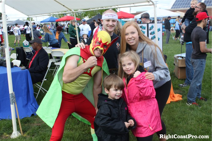 RightCoastPro MascotCoastee DSA Buddywalk Delaware superhero cruz