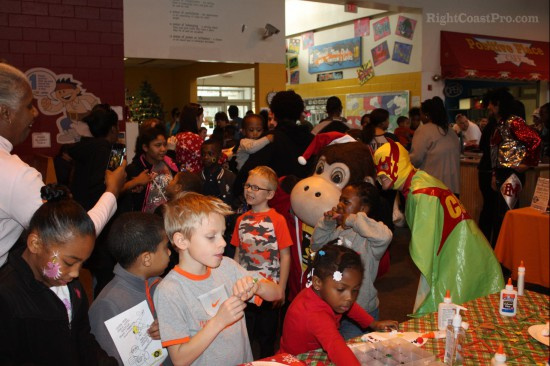 RightCoastPro Greater Newark BoysGirls Club Santa Breakfast