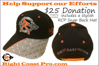 HatDonation RightCoastPro Wrestling Delaware