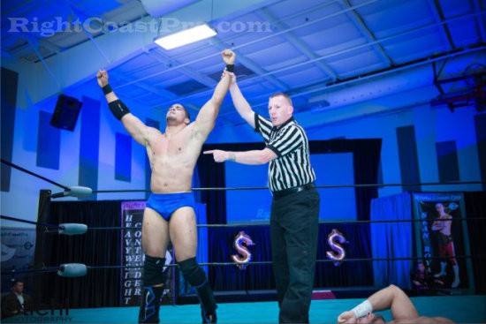 Bowens 5 RCP16 RightCoastPro Wrestling Delaware Community Entertainment Event