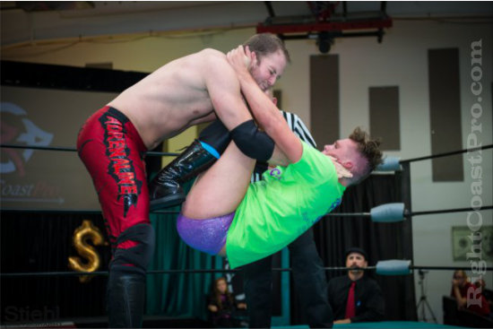 Steeler 3 RCP16 RightCoastPro Wrestling Delaware Community Entertainment Event