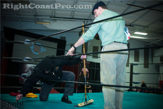 Crister 3 RCP19 RightCoastPro Wrestling Delaware Community Entertainment Event
