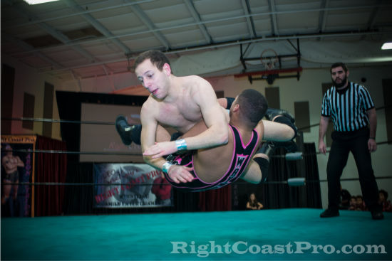 Mozart 3 RCP19 RightCoastPro Wrestling Delaware Community Entertainment Event