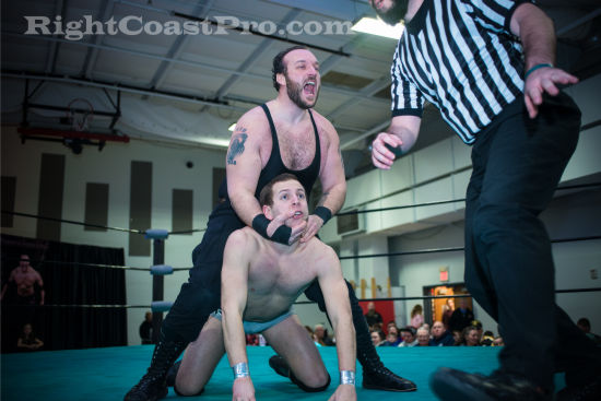 Mozart 4 RCP19 RightCoastPro Wrestling Delaware Community Entertainment Event