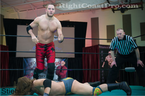 Stride 5 RCP19 RightCoastPro Wrestling Delaware Community Entertainment Event