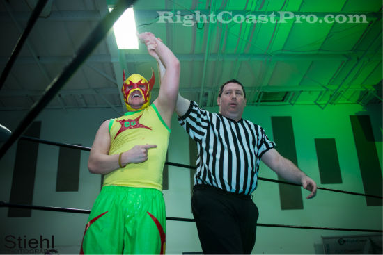 cruz 5 RCP19 RightCoastPro Wrestling Delaware Community Entertainment Event