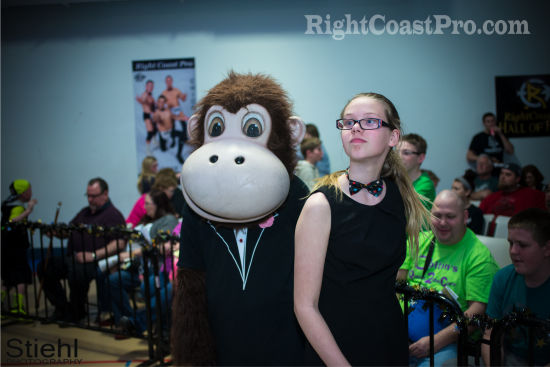 Coastee 1 RCP20 HallofFame RightCoastPro Wrestling Delaware Community Entertainment Event