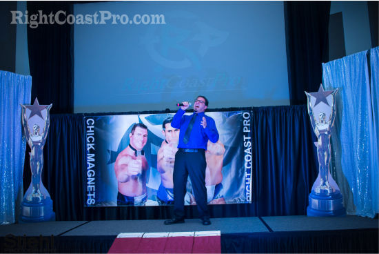 Singer 2 RCP20 HallofFame RightCoastPro Wrestling Delaware Community Entertainment Event
