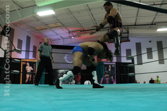 Bowens 2 RCP21 RightCoastPro Wrestling Delaware Community Entertainment Event