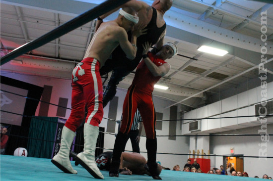 Heavyweights 2 RCP21 RightCoastPro Wrestling Delaware Community Entertainment Event