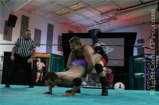 Ruby 4 RCP21 RightCoastPro Wrestling Delaware Community Entertainment Event