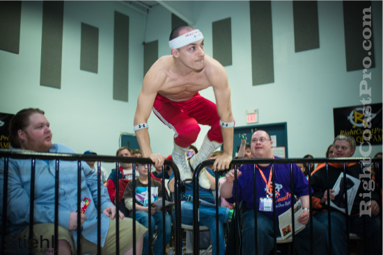 chachi 3 RCP21 RightCoastPro Wrestling Delaware Community Entertainment Event