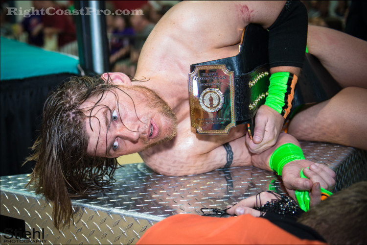 Stride 750 RCP22 RightCoastPro Wrestling Delaware Festivus2015 Event