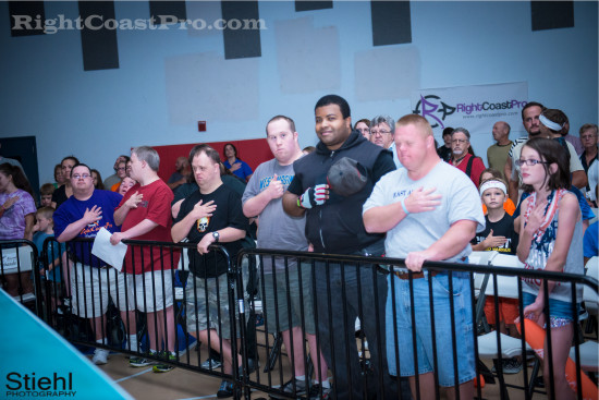 Anthem 3 RCP22 RightCoastPro Wrestling Delaware Festivus2015 Event
