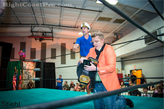 Stride 3 RCP22 RightCoastPro Wrestling Delaware Festivus2015 Event