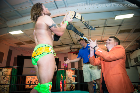 Stride2 RCP22 RightCoastPro Wrestling Delaware Festivus2015 Event