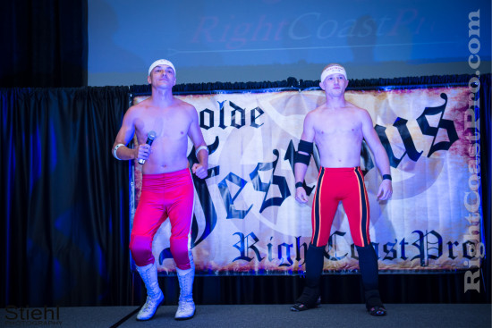 TagTeam 2 RCP22 RightCoastPro Wrestling Delaware Festivus2015 Event