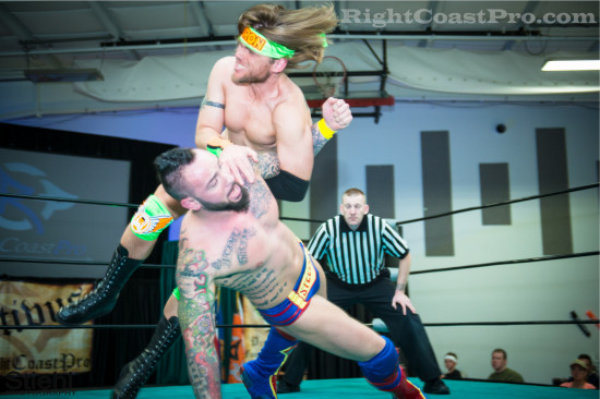 steeler 1 RCP22 RightCoastPro Wrestling Delaware Festivus2015 Event