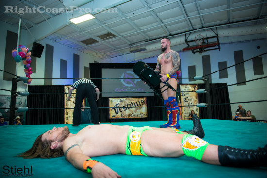 steeler 5 RCP22 RightCoastPro Wrestling Delaware Festivus2015 Event