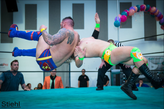 steeler 9 RCP22 RightCoastPro Wrestling Delaware Festivus2015 Event