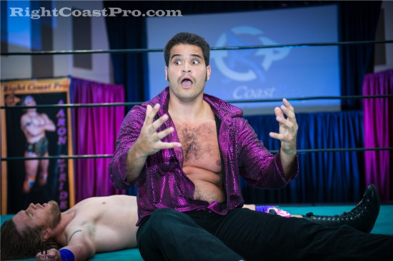 Stride Champion 1080 RCP22 RightCoastPro Wrestling Delaware Festivus2015 Event