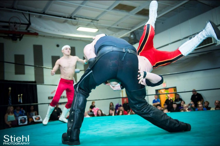 JR Ryder Injury RightCoastPro Delaware Wrestling Turntable