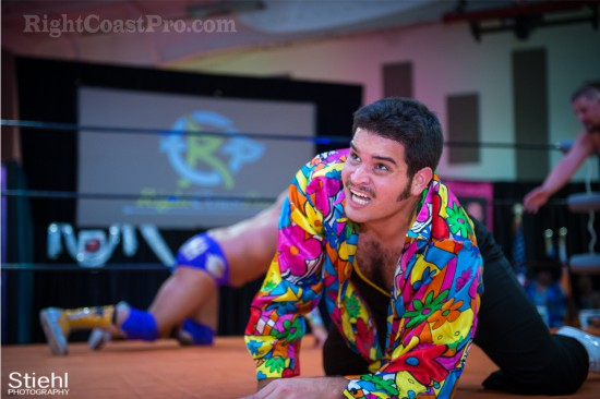 Studio54 9 Pineapple RightCoastPro Wrestling Delaware