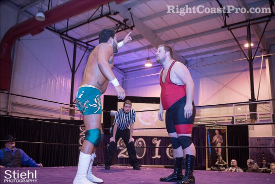 Chachi Ruby 4 RCP27 RightCoastPro Wrestling Delaware entertainment