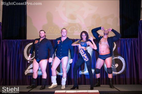 Heavyweights BTY 1 RCP27 RightCoastPro Wrestling Delaware entertainment