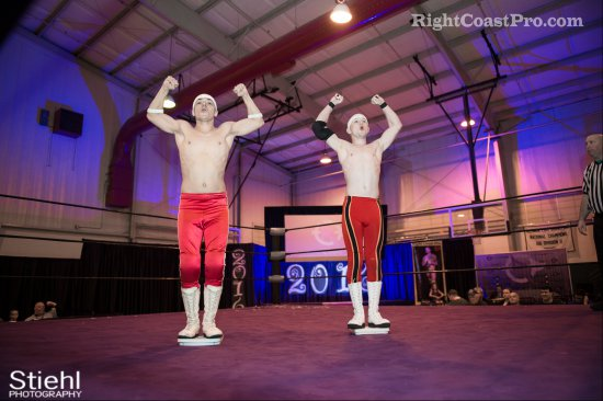 Heavyweights BTY 2 RCP27 RightCoastPro Wrestling Delaware entertainment