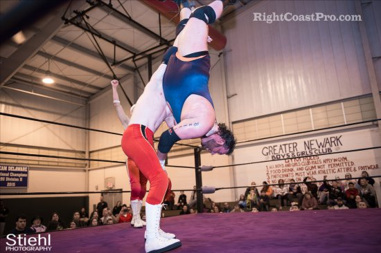 Heavyweights BTY 8 RCP27 RightCoastPro Wrestling Delaware entertainment