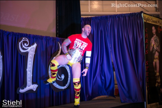 steeler entrance RCP27 RightCoastPro Wrestling Delaware entertainment
