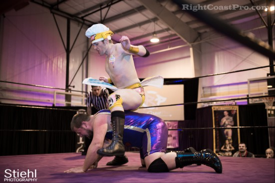 Hungry Match 4 Cadence RCP28 RightCoastPro Wrestling Delaware Event