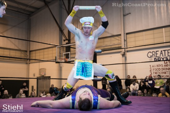 Hungry Match 5 Cadence RCP28 RightCoastPro Wrestling Delaware Event