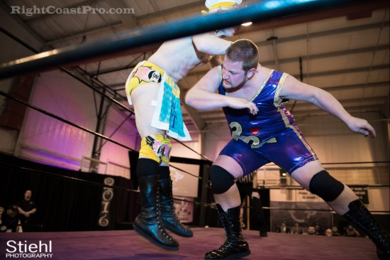 Hungry Match 7 Cadence RCP28 RightCoastPro Wrestling Delaware Event