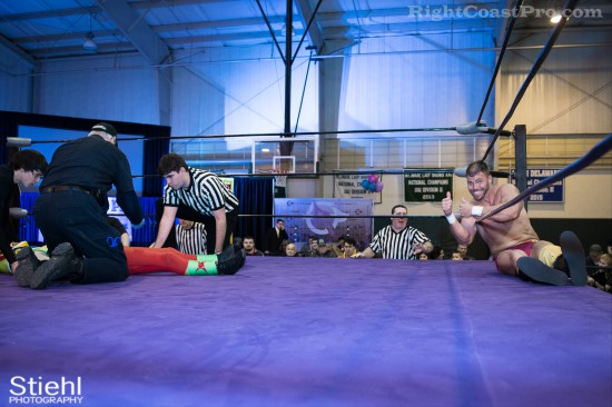 InjuryPrevention RightCoastPro Wrestling Delaware Event
