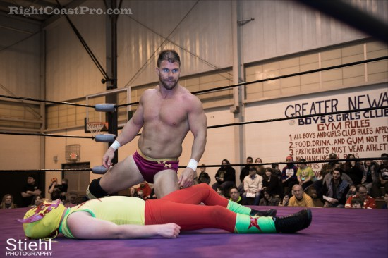 Upgrade Superhero 10 Cadence RCP28 RightCoastPro Wrestling Delaware Event