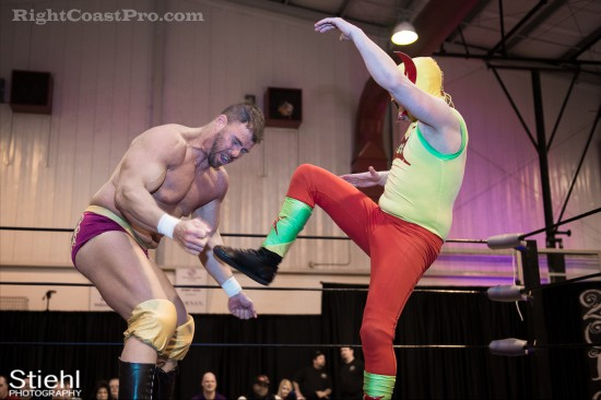 Upgrade Superhero 3 Cadence RCP28 RightCoastPro Wrestling Delaware Event