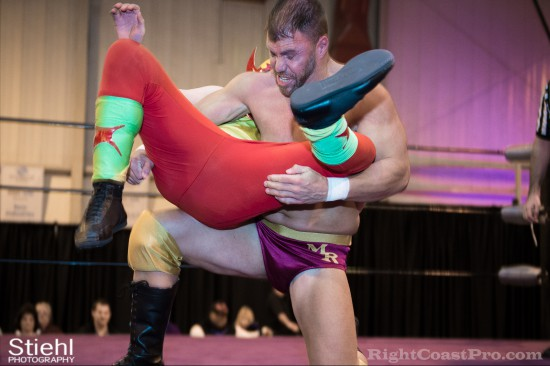 Upgrade Superhero 5 Cadence RCP28 RightCoastPro Wrestling Delaware Event