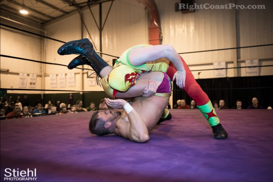 Upgrade Superhero 7 Cadence RCP28 RightCoastPro Wrestling Delaware Event