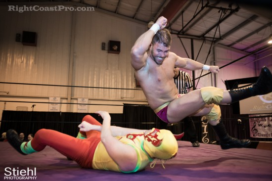 Upgrade Superhero 8 Cadence RCP28 RightCoastPro Wrestling Delaware Event